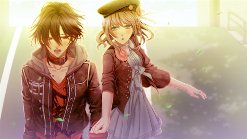Otome Games Wallpaper Probably With A Well Dressed Person Cocktail Dress And