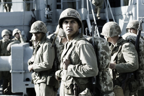 Image result for adam beach in flags of our fathers