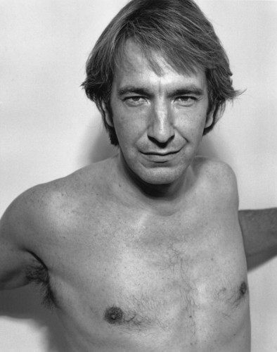 Alan Rickman karatasi la kupamba ukuta probably containing a hunk, a hot tub, and skin called Alan Rickman