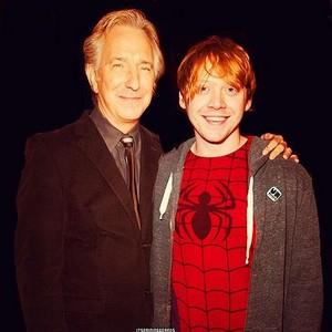 Alan and Rupert