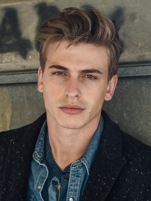 Albanian man, model - Mirlind Morina