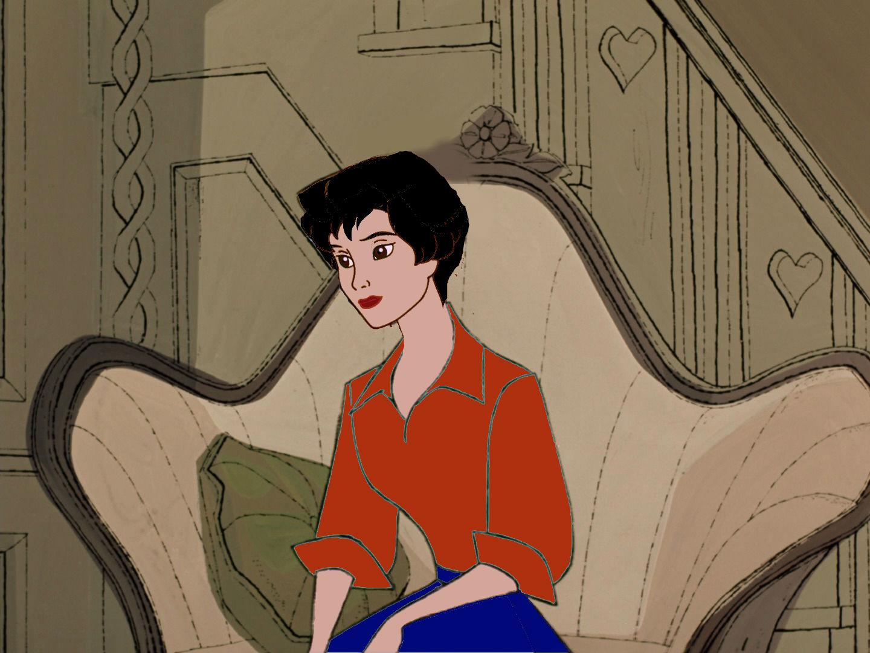 Animated Audrey Hepburn