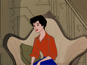 Animated Audrey Hepburn