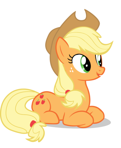 my little pony friendship is magic images applejack laying