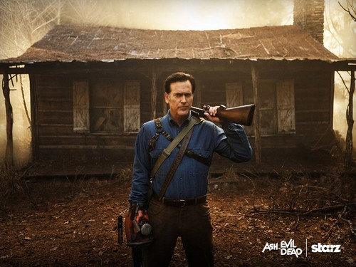 Ash vs Evil Dead achtergrond probably with a flutist and a flute entitled Ash vs Evil Dead