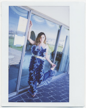 Aubrey Plaza - Nylon Photoshoot, Behind the Scenes - September 2014
