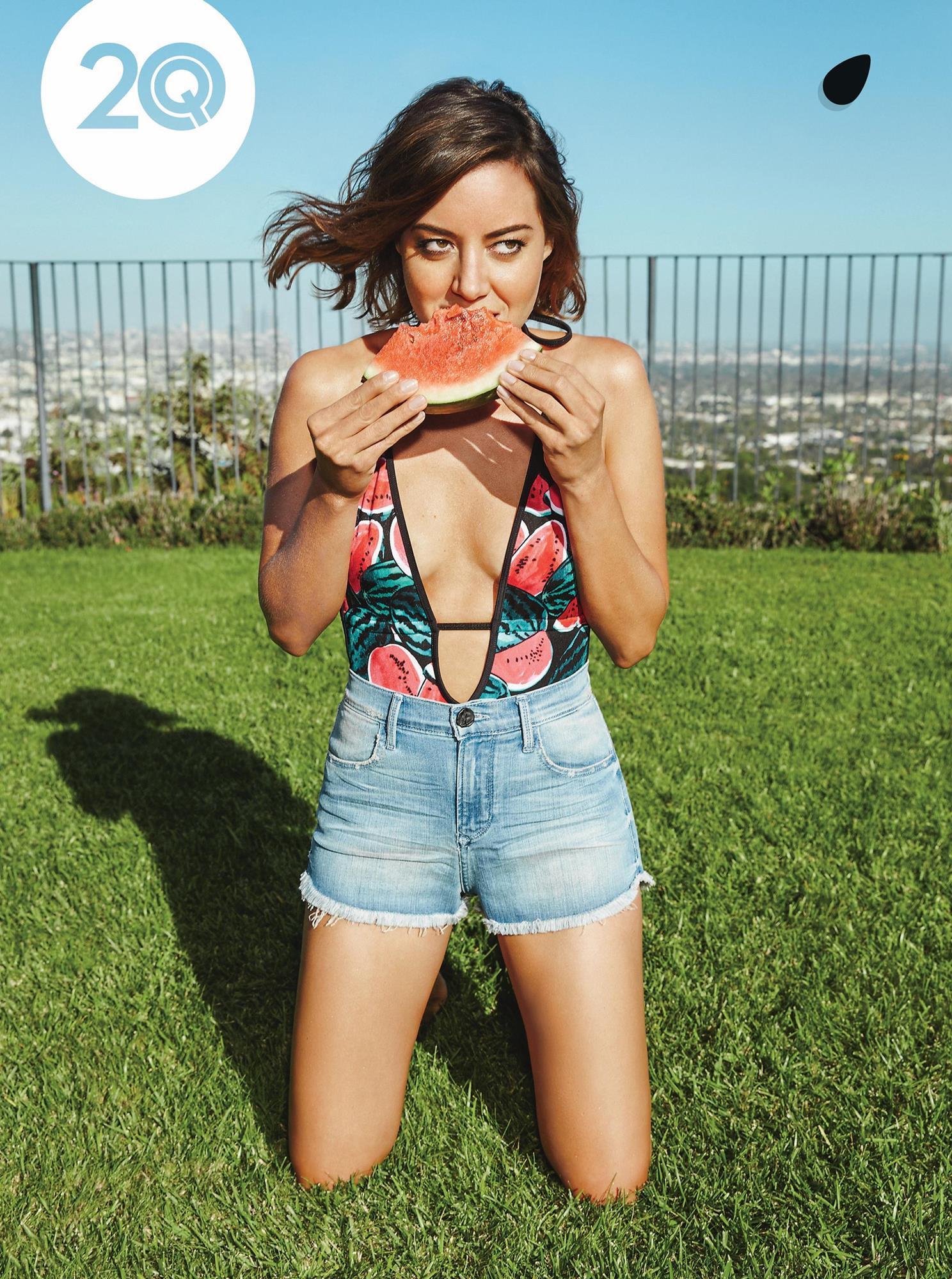 Aubrey Plaza - Playboy Photoshoot - April 2015