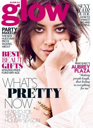 Aubrey Plaza in Glow Magazine - December 2013