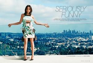 Aubrey Plaza in Latina Magazine - March 2014