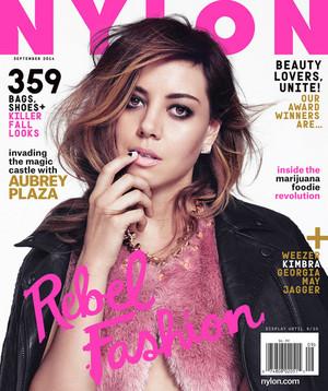 Aubrey Plaza in Nylon Magazine - September 2014