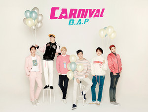 B.A.P group teaser image for ''CARNIVAL''