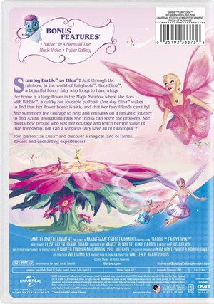 barbie Fairytopia 2016 DVD with New Artwork