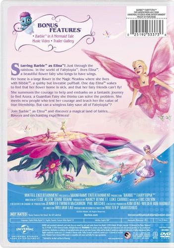 芭比 电影 壁纸 containing 日本动漫 called 芭比娃娃 Fairytopia 2016 DVD with New Artwork