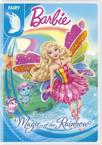 películas de barbie fondo de pantalla possibly containing anime entitled barbie Fairytopia: Magic of The arco iris 2016 DVD with New Artwork