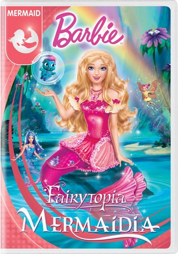 i film di Barbie wallpaper possibly containing Anime titled Barbie Fairytopia: Mermaidia 2016 DVD with New Artwork