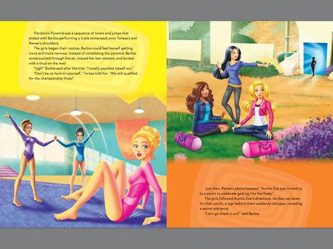 Barbie فلمیں پیپر وال containing عملی حکمت titled Barbie:Spy Squad Book منظر پیش