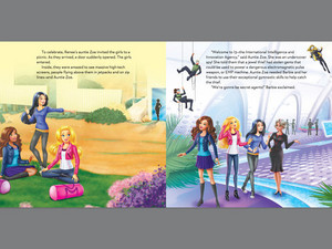 Barbie:Spy Squad Book prebiyu