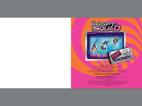 Barbie:Spy Squad Book vista previa