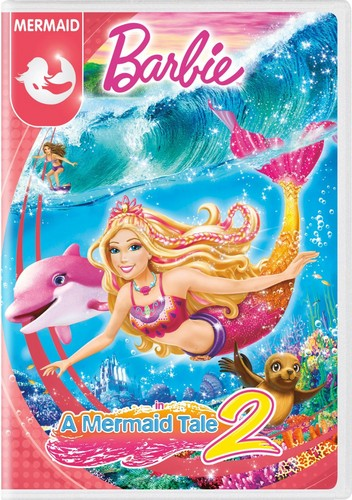 Мультики о Барби Обои possibly containing Аниме titled Барби in A Mermaid Tale 2 2016 DVD with New Artwork