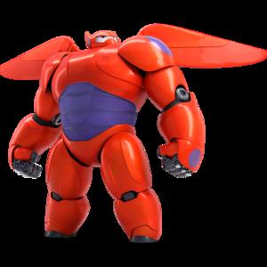 Baymax Armor Wings Render