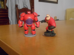Baymax e Mr. Incredibile