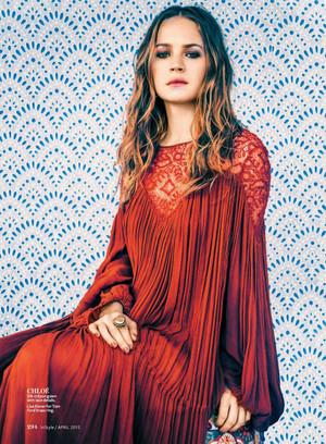 Britt Robertson - InStyle Photoshoot - 2015