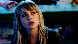 Britt Robertson as Aubrey Miller in The First Time