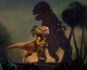 Butch e il t-rex di Fantasia