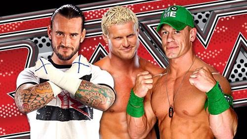 WWE kertas dinding titled CM Punk Dolph Ziggler John Cena WWE 30392596