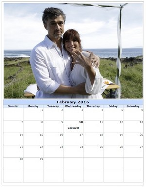 Calender created by me