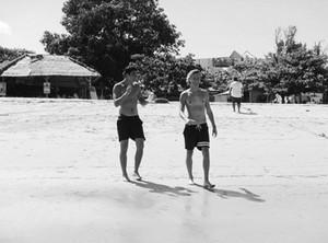 Calum in Bali