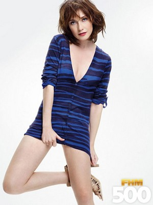 Carice バン Houten - FHM500 Photoshoot