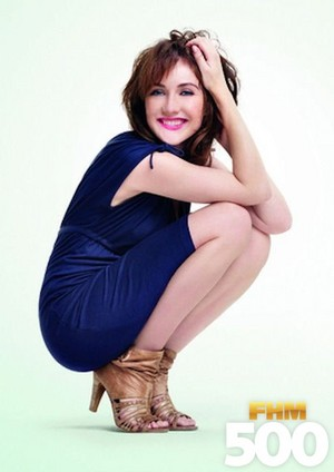 Carice वैन, वान Houten - FHM500 Photoshoot