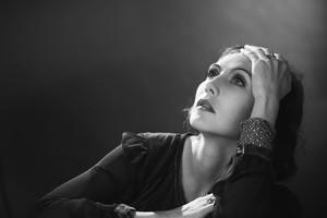 Carice furgão, van Houten - Greta Garbo Biopic photoshoot
