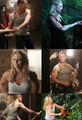 Charmings tank top fest a.k.a Welcome to the gun show  - once-upon-a-time fan art