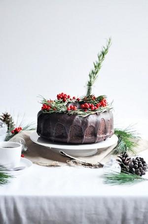 cokelat Bundt Cake