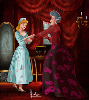 Cinderella & Lady Tremaine