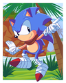 Classic Sonic - sonic-the-hedgehog fan art