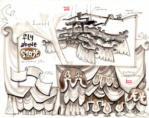 Concept Art: Gloria's Theatre