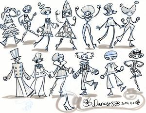 Concept Art: Milla's Dance Party