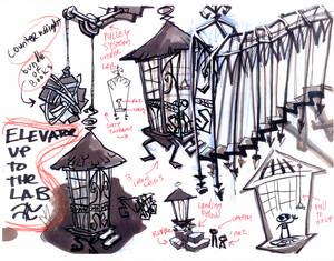 Concept Art: The Asylum