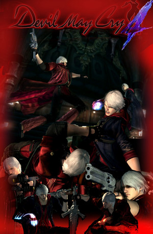 DMC4 Dante vs Nero