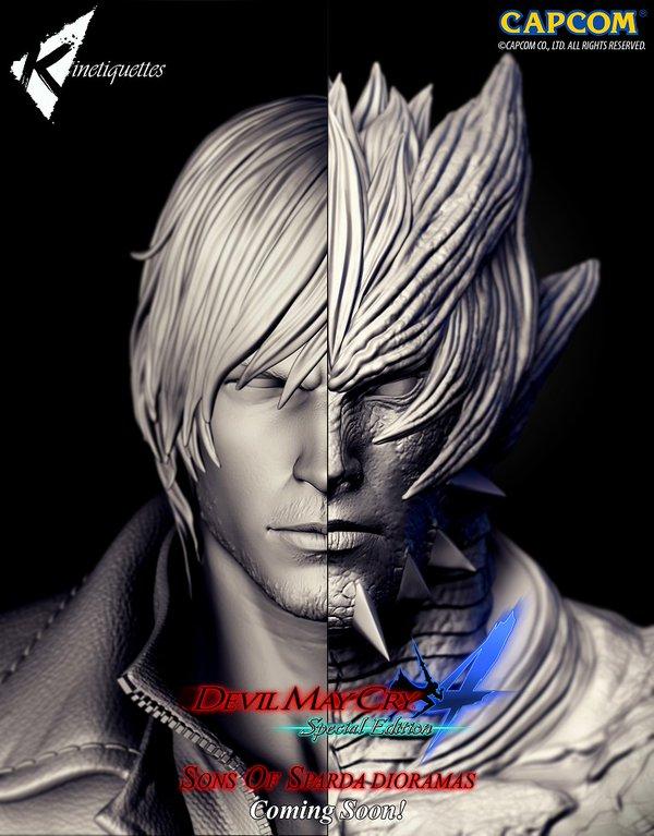 Dante Dioramma Devil May Cry 4 Fan Art 39207071 Fanpop