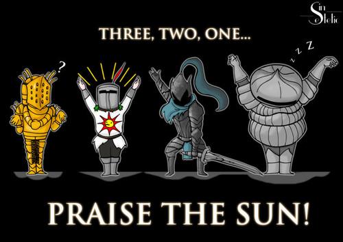 Praise The Sun Wallpaper