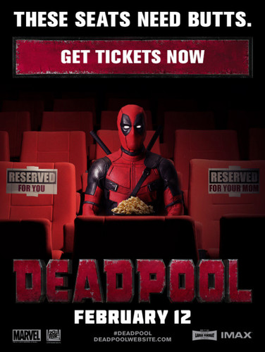 Deadpool (2016) fondo de pantalla with anime titled Deadpool Ad