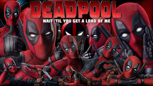 Deadpool (2016) wallpaper probably containing animê titled Deadpool Movie wallpaper