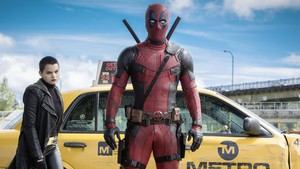 Deadpool movie kertas dinding