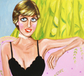Diana, Princess of Wales-Diana Frances  Spencer ( 1 July 1961 – 31 August 1997) - celebrities-who-died-young fan art