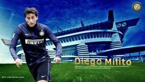 Diego Milito Inter de Milan 바탕화면