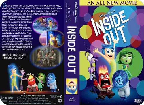 Inside Out achtergrond containing anime titled Disney•Pixar's Inside Out (2003) VHS